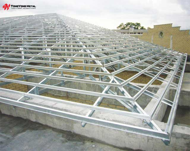 Uni Eco Steel Roof Truss System Tong Yong